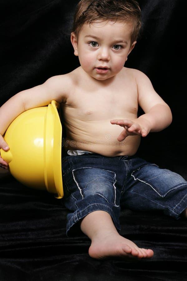 Download Guppa byggmästaren arkivfoto. Bild av härlig, toddlers, toddler - 35862