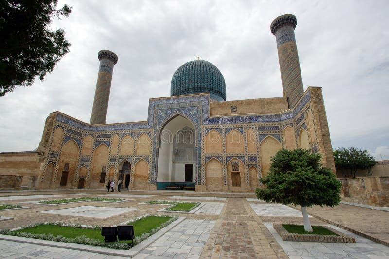 Gur-ε εμίρης, τάφος, Σάμαρκαντ, Ουζμπεκιστάν στοκ εικόνες με δικαίωμα ελεύθερης χρήσης