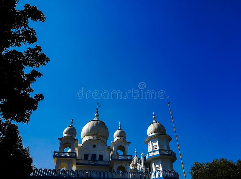 Gurdwara royaltyfria bilder