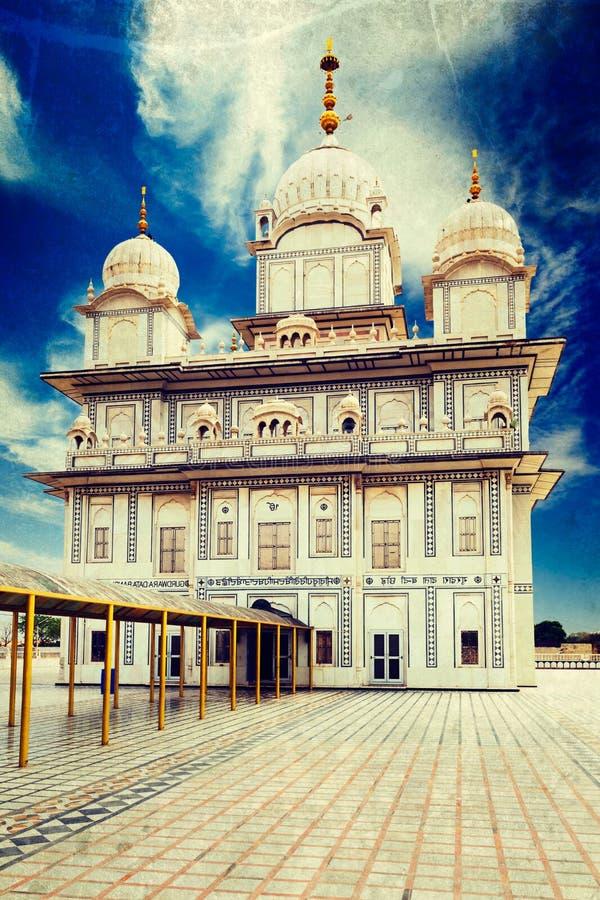 Gurdwara sikh foto de archivo libre de regalías