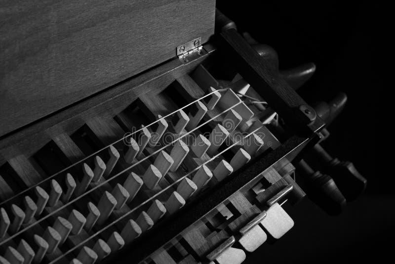 gurdy hurdy 免版税库存照片