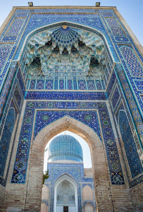 Guri Amir in Samarkand stockfotografie