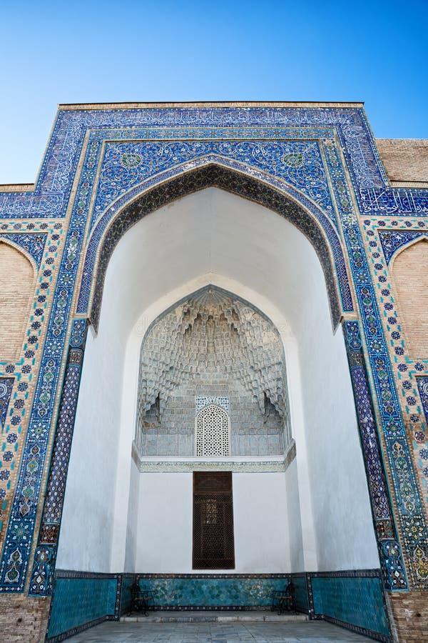 Guri emir w Samarkand zdjęcie royalty free