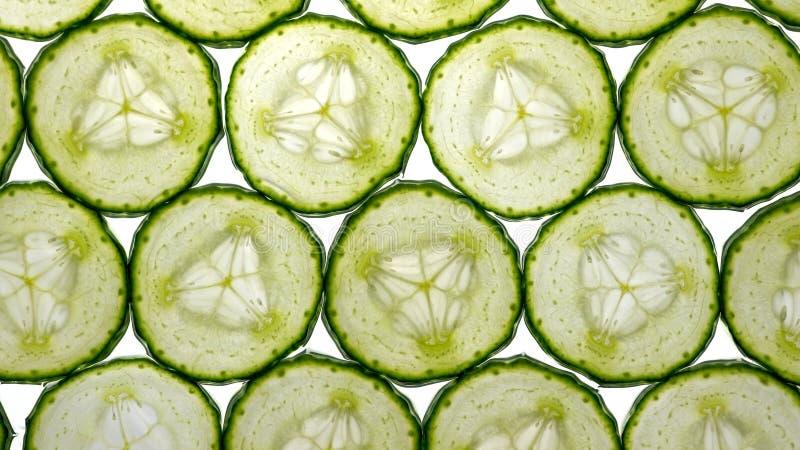 gurkaskivor arkivbild