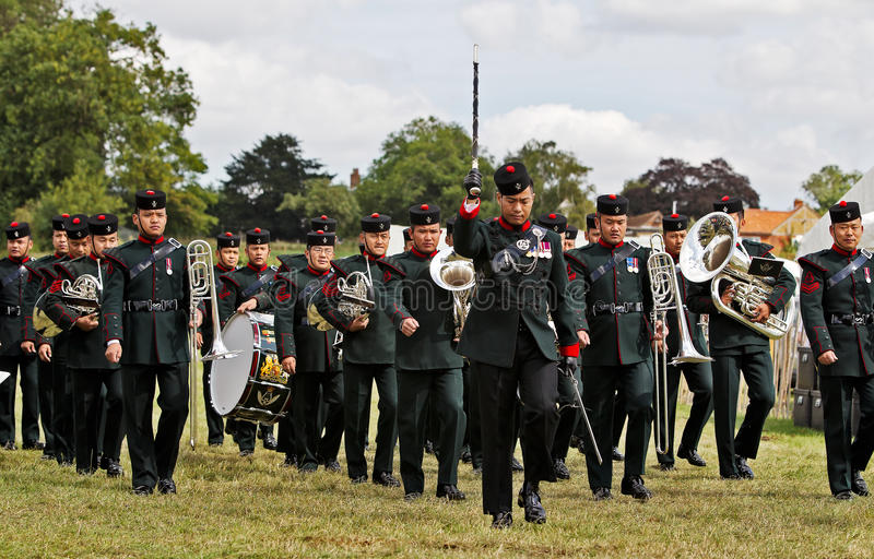 Download Gurkha Bandsmen editorial stock photo. Image of military - 34162993