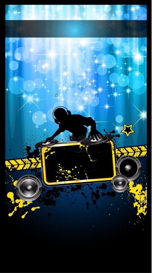 Free Gurnge Style Alternative Disco Flyer Stock Images - 20918664