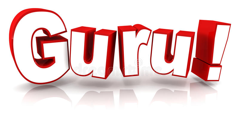 Guru stock illustrationer