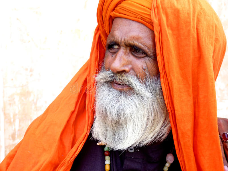 Guru espiritual idoso fotos de stock