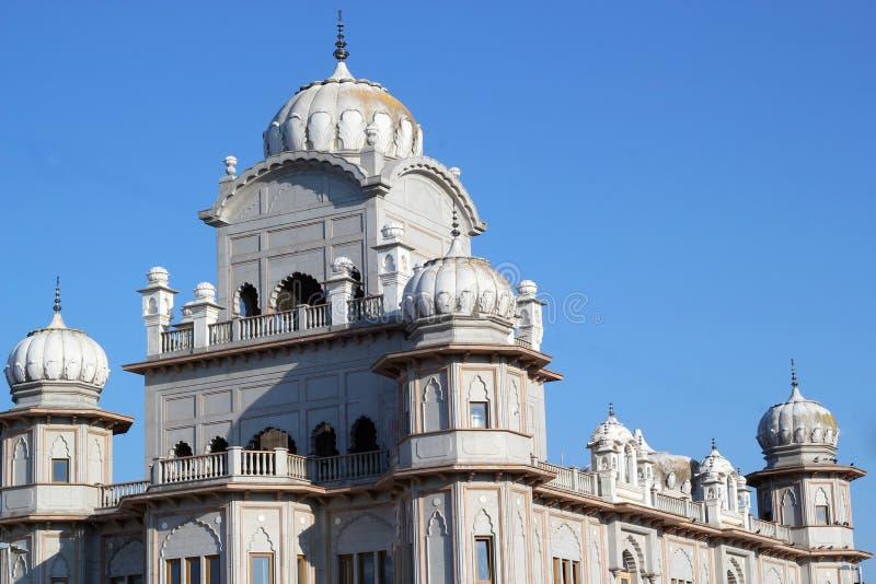Guru Nanak Gurdwara Templo sikh, Reino Unido fotografía de archivo libre de regalías