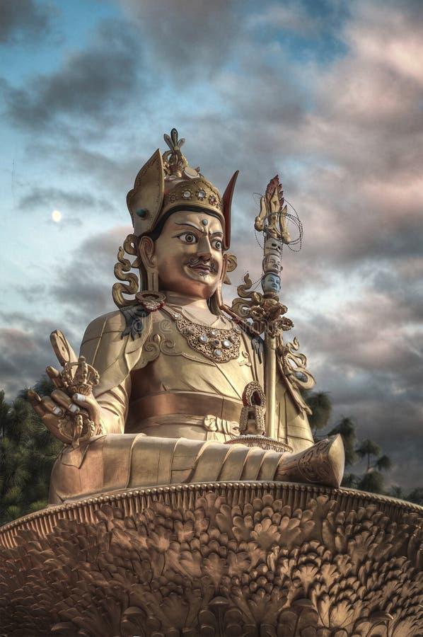 Guru Rinpoche fotos de archivo libres de regalías