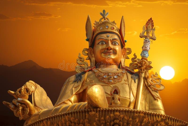 Guru Rinpoche imágenes de archivo libres de regalías