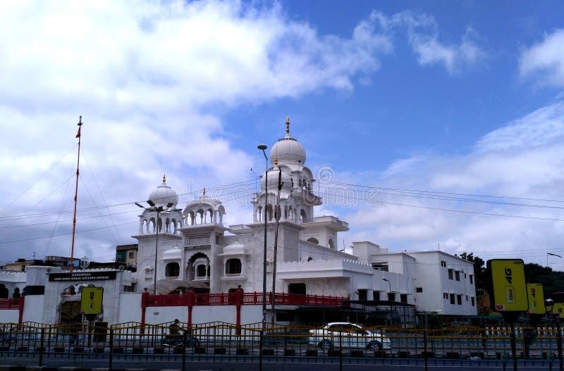 Gurudwara in Indore lizenzfreie stockfotos
