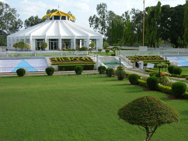 Gurudwara sikh la India fotos de archivo libres de regalías