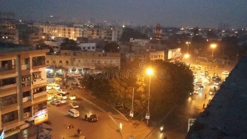 Gurumandar, голубая лента, Карачи стоковое фото