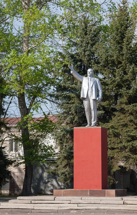 Gus Khrustalny, Russland Denkmal zu Vladimir Lenin stockfoto
