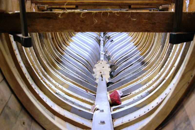 Guscio della barca fotografie stock libere da diritti
