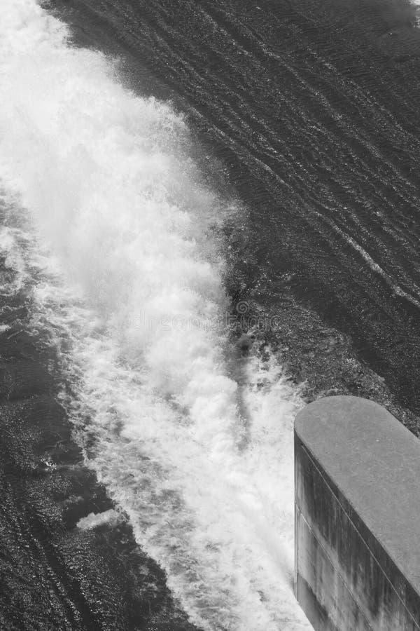 Gushing Water royalty free stock image