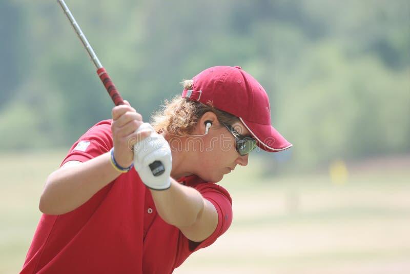 Gustaffson,LPGA golf Tour, Stockbridge, 2006 stock image