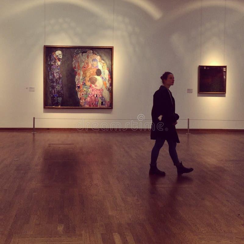 Gustav Klimt-museum royalty-vrije stock foto