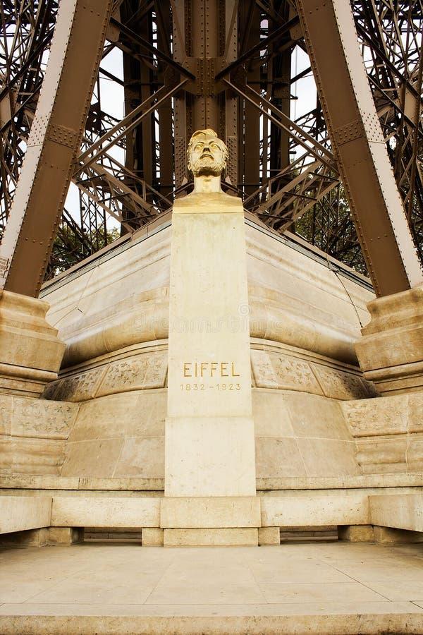 Gustave Eiffel bust