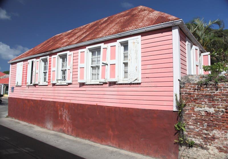 Gustavia圣巴泰勒米海岛,加勒比 免版税库存图片