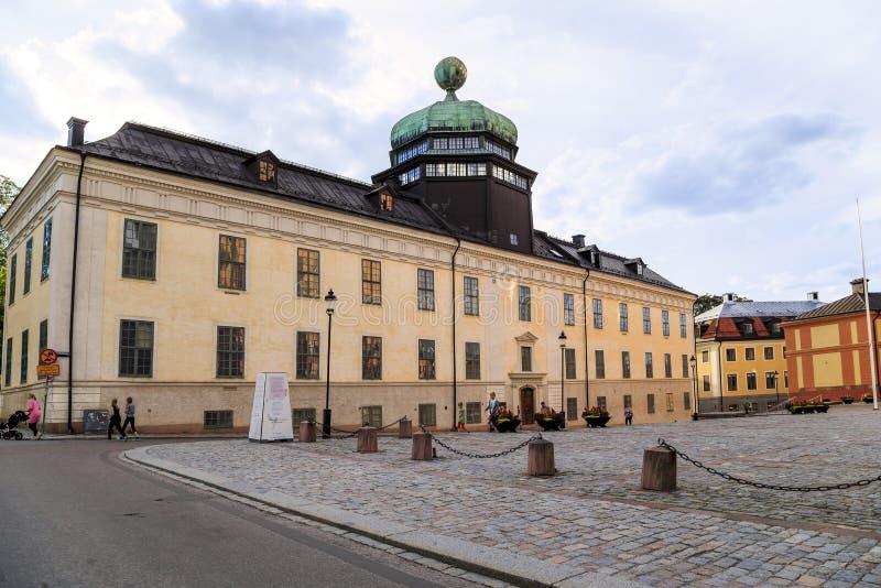 Gustavianum - universitetmuseum, Uppsala, Sverige royaltyfri foto