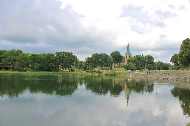 Gustavsberg lizenzfreie stockfotografie