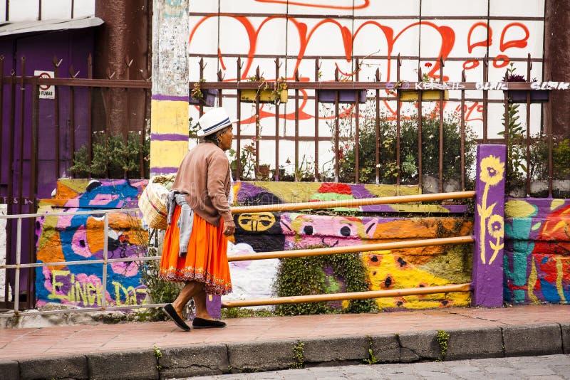 Gusto de Cuenca, Ecuador imagenes de archivo