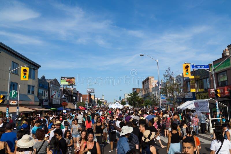 Gusto del Danforth Toronto imagenes de archivo