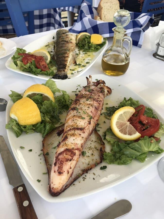 Gusto del Mediterraneo immagine stock
