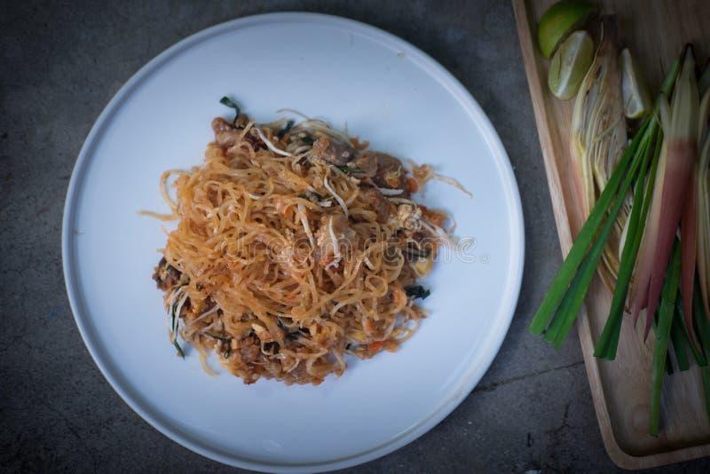 ?Gusto delizioso ?dell'alimento tailandese della Tailandia del cuscinetto fotografie stock