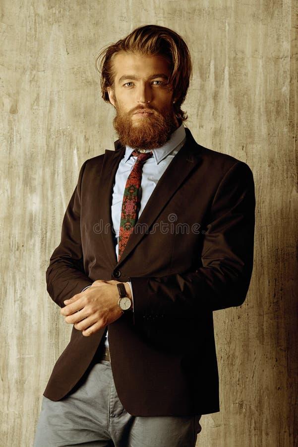 Gut gekleidet Mann lizenzfreies stockbild