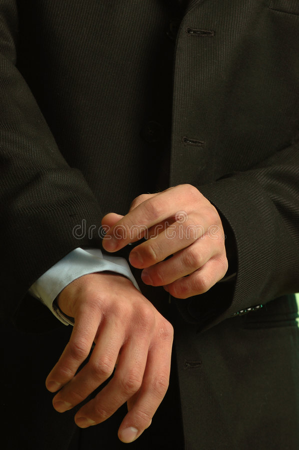 Gut gekleideter Mann lizenzfreie stockbilder