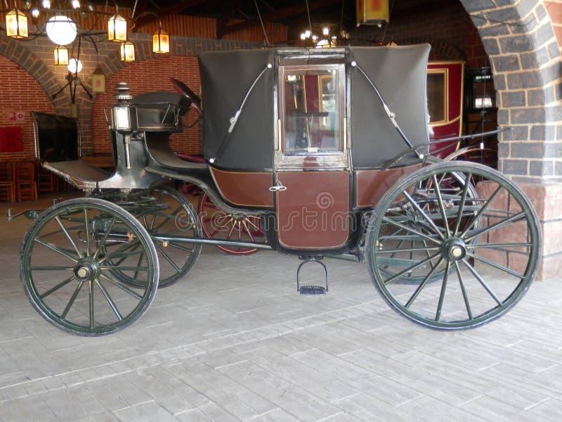 Gut konservierter Stagecoach lizenzfreie stockbilder