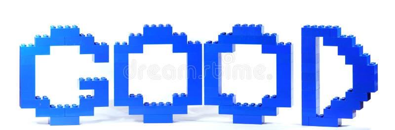 Gut vom lego Spielzeug stockbilder