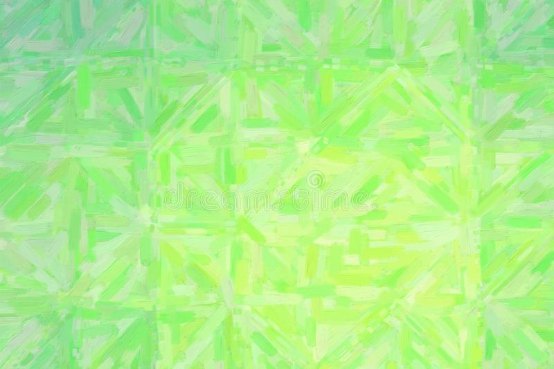 Gute abstrakte Illustration des grünen und grauen Ölgemäldes Nützlicher Hintergrund für Ihre Arbeit vektor abbildung