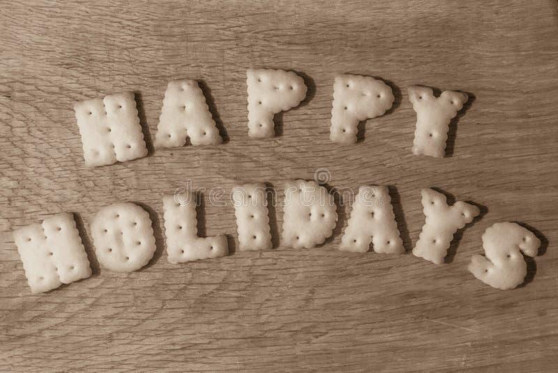 Gute Feiertage des Wunsches lizenzfreie stockbilder