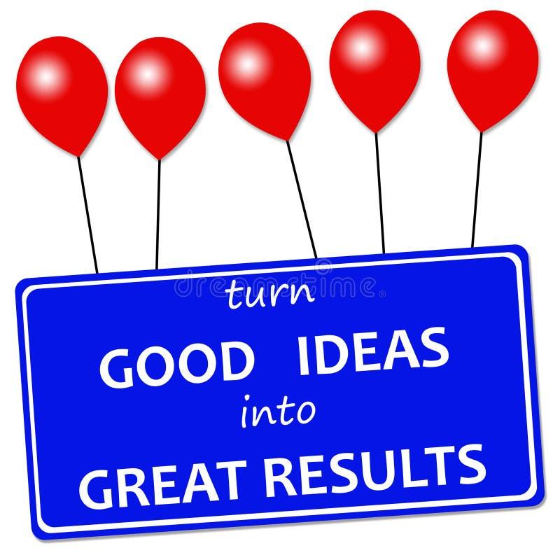Gute Ideen vektor abbildung
