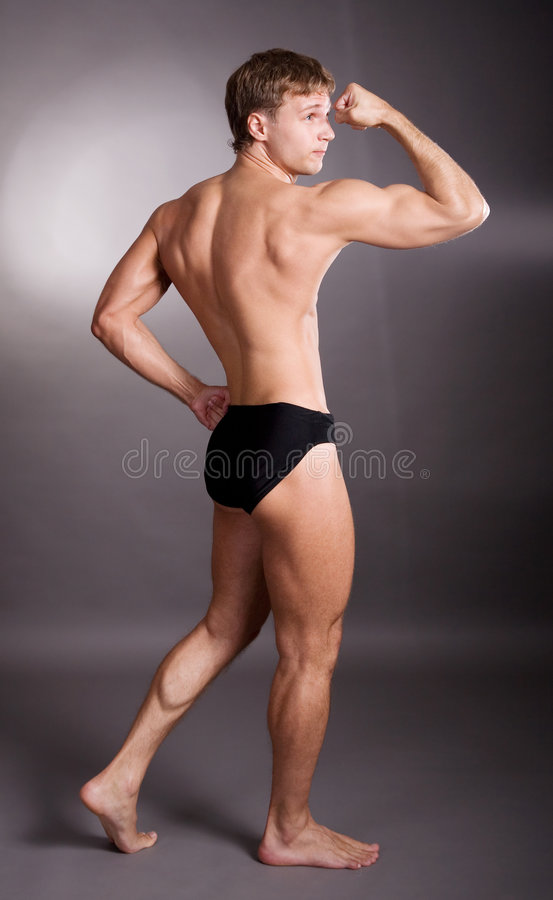 Gute Muskeln stockfotografie