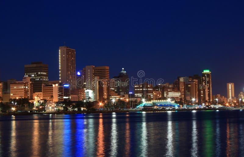 gute Nacht, Durban lizenzfreie stockbilder