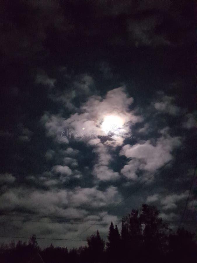 Gute Nacht Mond lizenzfreie stockbilder