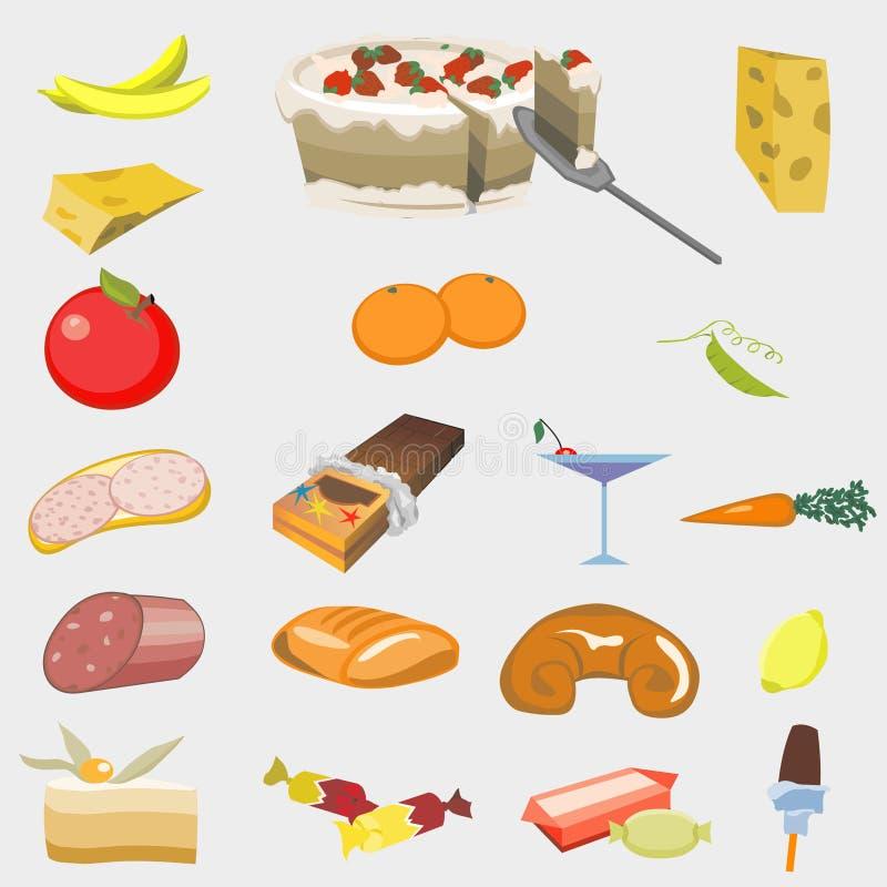 Gute Nahrung lizenzfreie abbildung