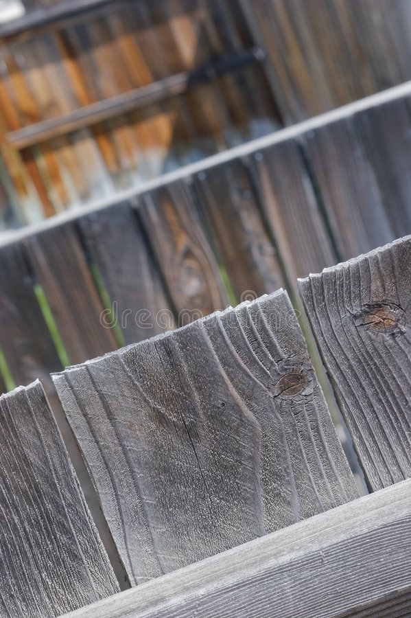 Gute Zäune bilden gute Nachbarn stockbild