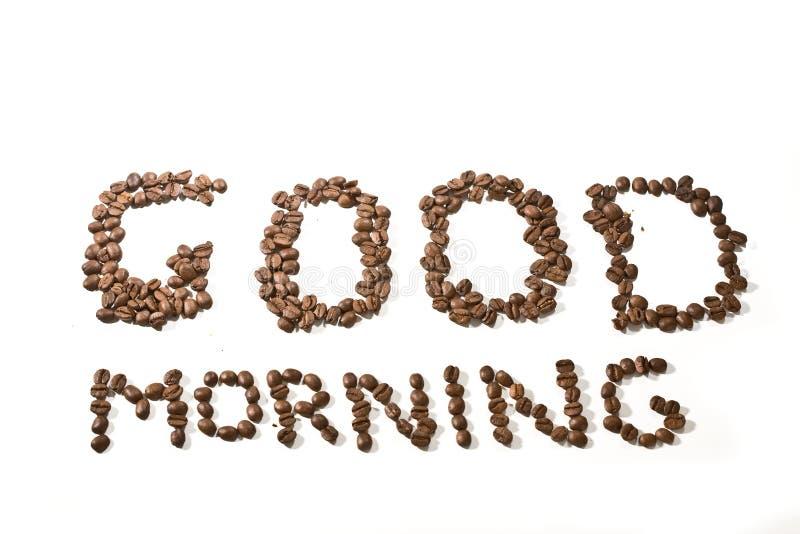 Guten Morgen stockfoto