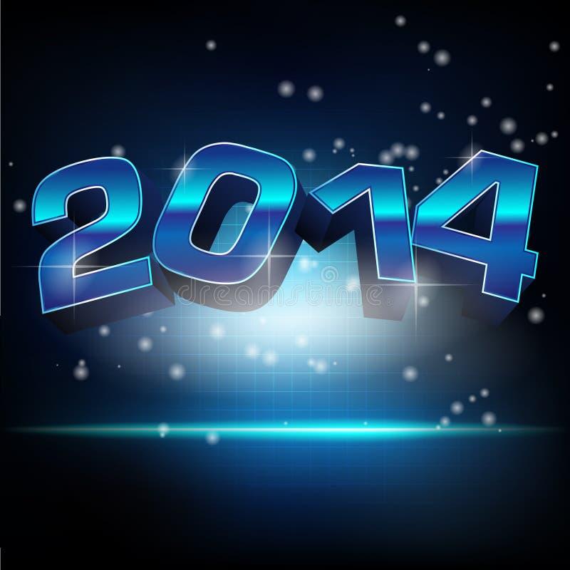 Guten Rutsch ins Neue Jahr! vektor abbildung