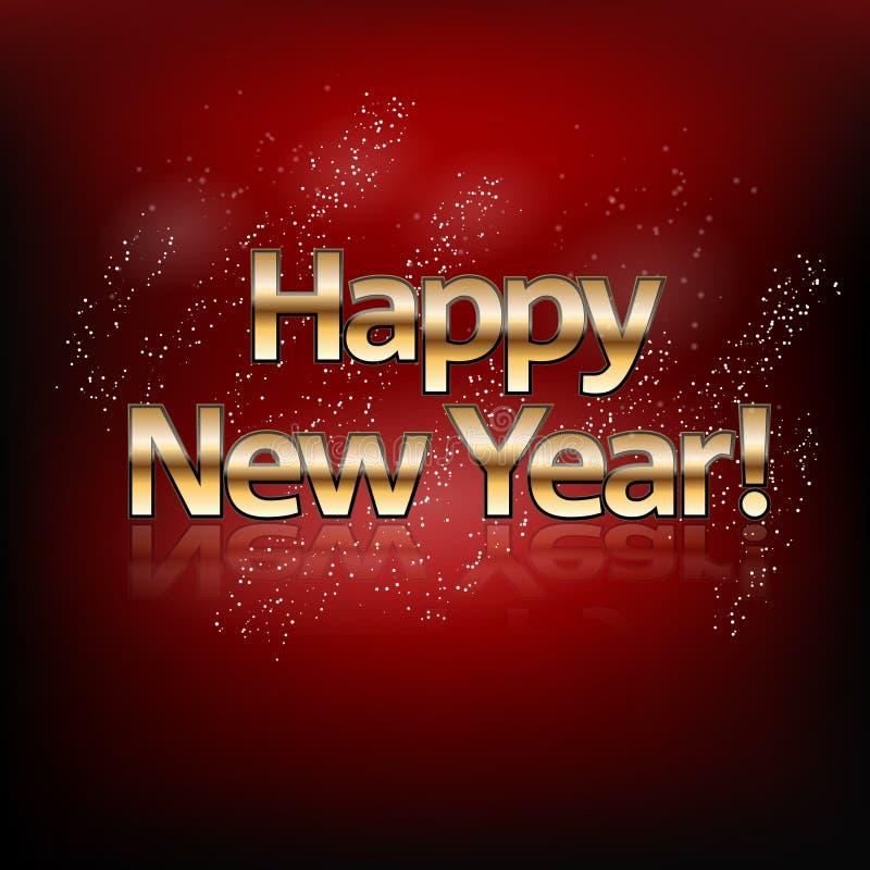 Guten Rutsch ins Neue Jahr! lizenzfreie abbildung
