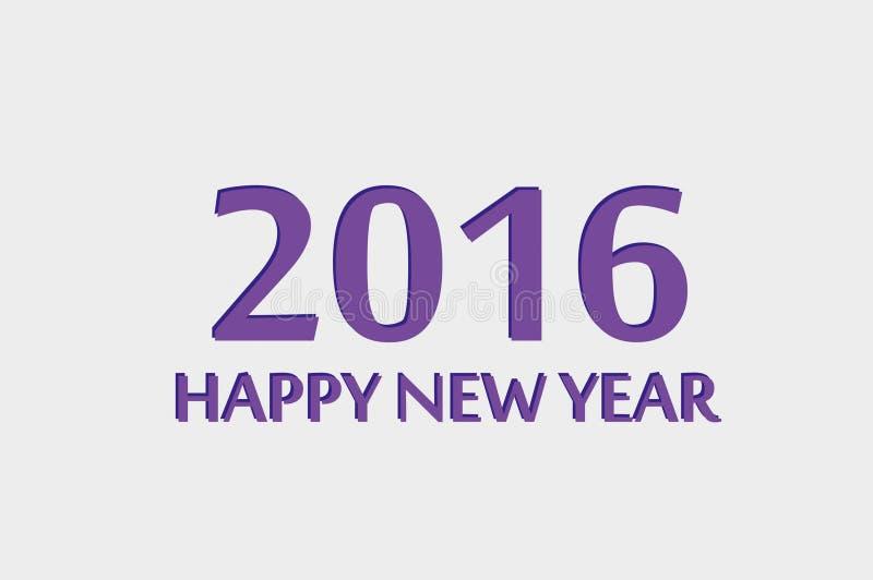 Guten Rutsch ins Neue Jahr 2016 stockbilder