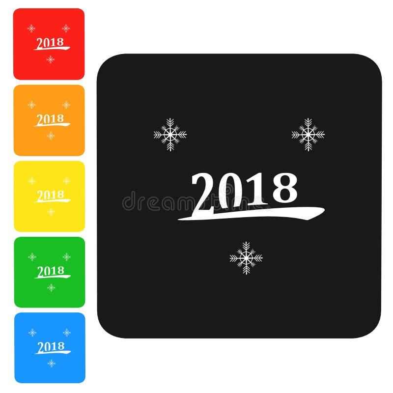 Download Guten Rutsch Ins Neue Jahr, Ikone Der Frohen Weihnachten, Zeichen, Illustration 3D Stock Abbildung - Illustration von kalt, dekoration: 106801487
