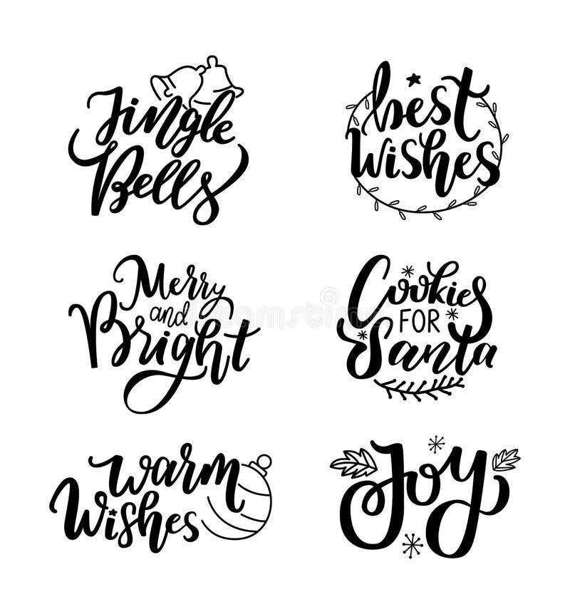 Guten Rutsch ins Neue Jahr, Jingle Bells und warme Wünsche, Freude lizenzfreie abbildung