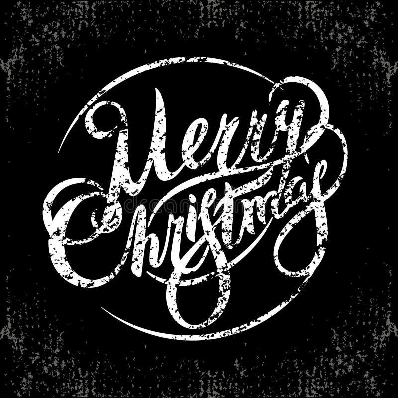 Guten Rutsch ins Neue Jahr und frohe Weihnachten 2018_2 lizenzfreie abbildung
